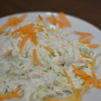 Λάχανο Καρότο με Σως Μαγιονέζας
