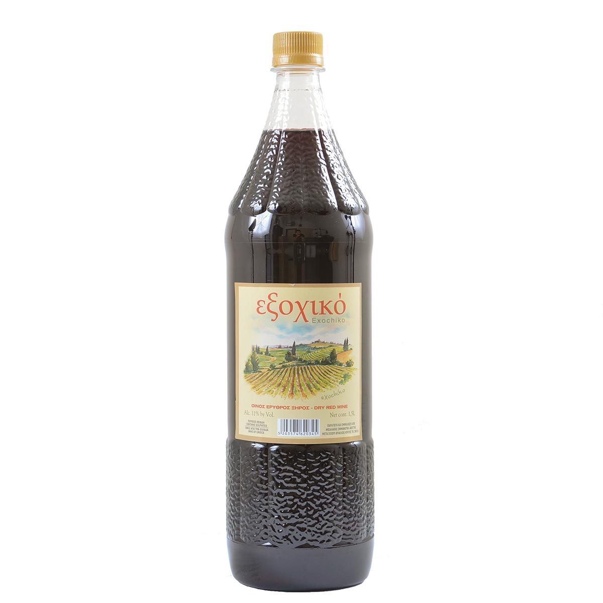 Κόκκινο κρασί 1.5lt Εμφιαλωμένο